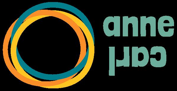Studio Anne Carl logo webdesign met missie
